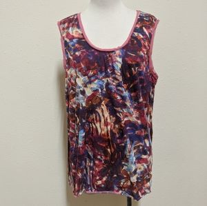 3for$20 sleeveless blouse size xl colorful